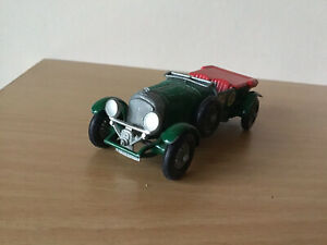 LESNEY MATCHBOX MODELS OF YESTERYEAR NO 5 BENTLEY 4 1/2 LITRE 1929 DIECAST Y-5