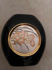 24K GOLD ORIGINAL HAND PAINTED DYNASTY GALLERY CHOKIN ART COLLECTION VASE