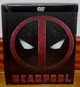 DEADPOOL DIGIBOOK DVD+LIBRO NUEVO PRECINTADO ACCION AVENTURAS (SIN ABRIR) R2