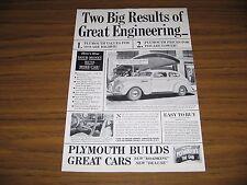 1938 Print Ad The 1939 Plymouth Roadking Two-Door Touring Sedan