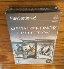 Medal Of Honor Collection (Playstation 2) ps2 Frontline Rising Sun Eur Assau NEW