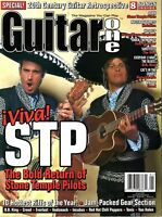 Guitar One Magazine January 2000 - Stone Temple Pilots, Godsmack, Creed, Incubus