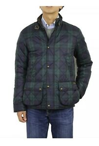 Polo Ralph Lauren Quilted Jacket Coat Blackwatch Plaid Large RRP £375