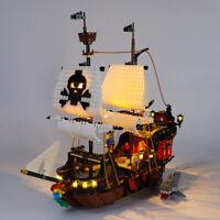 LED Licht Set Für 31109 LEGO Creator Pirate Ship Kit (mit Anleitung)