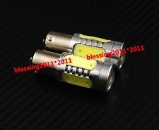 2pcs  Bright white LED Bulbs Backup Reversing Lights 1156 1680 7506 Error Free