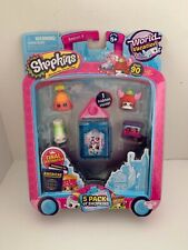 Shopkins 5 Pack World Vacation Americas Season 8 Brand new in package