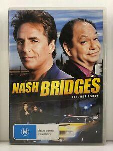 DVD Nash Bridges : Season/Series 1 One First 1st - FREE POST #P3