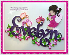 ~*CUSTOM MADE WOODEN PERSONALIZED WALL/DOOR SIGNS with design of your choice