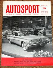 Autosport 14/10/60* MODENA GP - BATHURST INT'L - LONDON RALLY - PARIS SALON