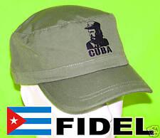 CUBA:  CASQUETTE  FIDEL CASTRO Army cap HAVANA
