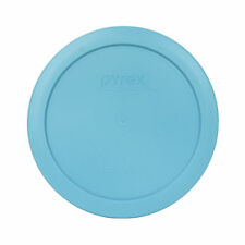 "Pyrex 7201-PC 6"" Surf Blue Plastic Storage Cover Lid for 4 Cup Glass Bowl"