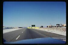 Truck Continental Divide Sign Gulf Gas Station in 1966 Ektachrome Slide aa 12-4b