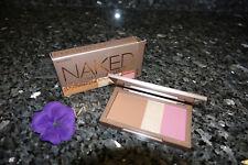 Urban Decay nooner naked flushed new in box 0.49oz bronzer highlighter blush