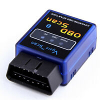 Blue Vgate ELM327 OBD2 Bluetooth V1.5 Scanner Auto Diagnostic Adapter Scan Tool