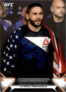 2016 Topps UFC Knockout #51 Chad Mendes