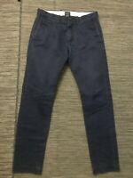 J Crew Mens 29 x 30 (ACTUAL 29 x 29) 484 Slim Fit Pant Broken In Chino 03226