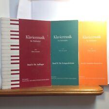 Klaviermusik für Einhänder Band 1 2 und 3 Hans Lorenzen