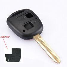 Toyota 2 Botton Key Case Key Shell Keyfob Key Housing  Camry Prado Yaris RAV4