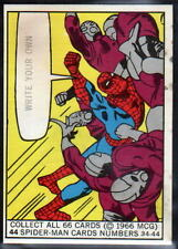 1966 DONRUSS MARVEL SUPER HEROES TRADING CARD # 44 Spider-Man