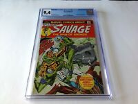 DOC SAVAGE 4 CGC 9.4 WHITE PAGES KENNETH ROBESON MARVEL COMICS