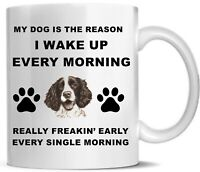 Springer Spaniel mug - Birthday gift idea - Spaniel gifts Printed Mug