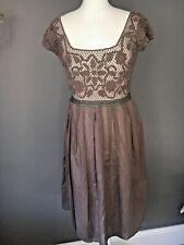 NOUGAT London - Stunning Crochet Bodice Summer Dress - Size 3 (UK10)