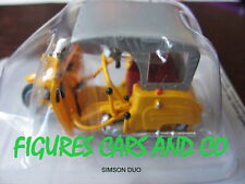 MOTO  1/43 COLLECTION EUROPE DE L'EST  PICCOLO DUO KRAUSE SIMSON RDA 1966-70