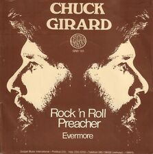 "CHUCK GIRARD ‎– Rock 'N Roll Preacher (1976 GOSPEL VINYL SINGLE 7"" HOLLAND)"