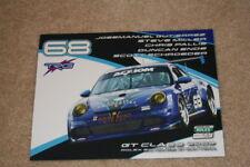 2009 Trg Racing #68 Porsche 997 Gt3 Cup Rolex 24 Grand Am postcard