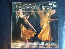 """Vinyl LP Record Les Elgart Orchestra """"Sophisticated Swing"""" Tested"""