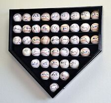 43 Baseball Ball HP Shaped Display Case Wall Cabinet Ultra Clear UV Lockable