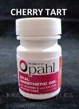 Opahl 20% Benzocaine Anesthetic Gel CHERRY Dermaroller Derma Roller Micro Needle