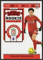 19 20 Chronicles Soccer Contenders Rookie Ticket TAKUMI MINAMINO T-Mall RED
