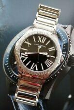 Rare SWISS LEGEND 46 mm Mens Swiss ETA 2836-2 Automatic Sapphire SS Wrist Watch