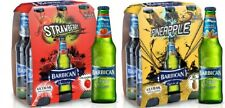 Barbican Strawberry & Pineapple Non Alcoholic Malt Beverage 2 x 6 Pack 330ML
