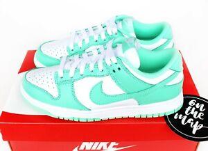 Nike Dunk Low W Green Glow White UK 3 4 5 6 7 8 9 US New