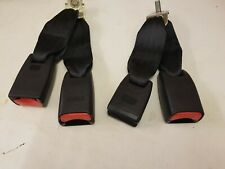 2010 MAZDA 6 DRIVER REAR SEAT BELT BUCKLES / POINTS both sides