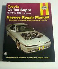 Haynes Repair Manual Book #92025 Toyota Celica Supra 1979-1992 All Models