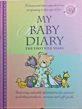 My Baby Diary/Record Book : The First Five Years - Hardback By Christina Forbes