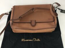 MASSIMO DUTTI LEATHER BAG SHOULDER STRAP  HIGH QUALITY LAPTOP BOLSO NEW BAG