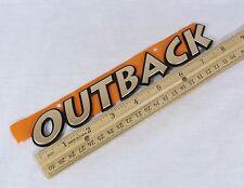 SUBARU OUTBACK EMBLEM 2004 BACK HATCH NEW OEM GOLD BADGE sign logo symbol name