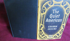 The QUIET AMERICAN ~ Graham GREENE.  1957 RS HARDcover with dj. UNread