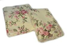2 RALPH LAUREN Sheffield Floral KING SHAMS SET NEW COTTON