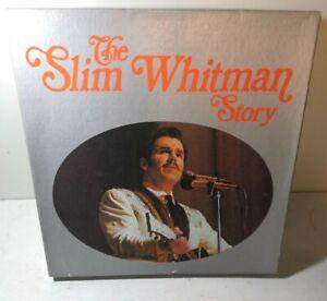 Slim Whitman – The Slim Whitman Story 6 Disk Vinyl LP Box Set 1970
