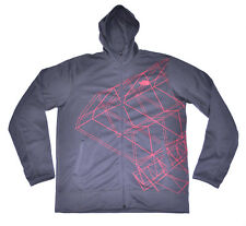The NORTH FACE Men's Surgent Print Hoodie Graphite Grey size L (T107) $75 SAMPLE