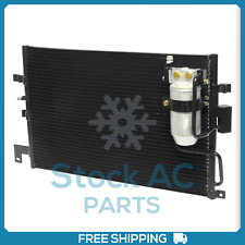 New A/C Condenser for Saab 9-3 1999 to 2002 - OE# 4758637 UQ
