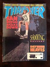 Thrasher Skateboard Magazine October 1992 Vintage