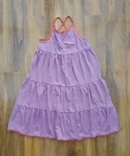MINI BODEN GIRLS FAB JERSEY Strappy SUN FRILL DRESS. SIZE 9-10 years. Brand new