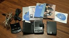 Lot of Two Palm Iiic Handheld Pda, Cradle, Usb cable, Manual+Cd