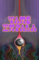 Tame Impala Poster Promo Currents 11 x 17 inches Purple Text